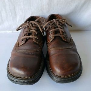 BORN Women's Brown Leather Lace-Up Hand Crafted